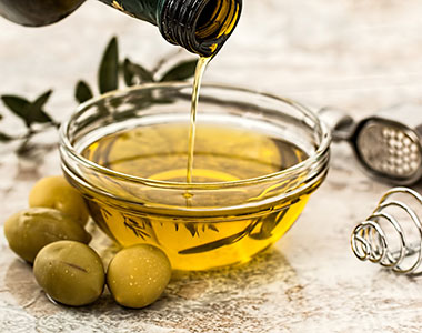 Olive oil is widely used as an edible oil